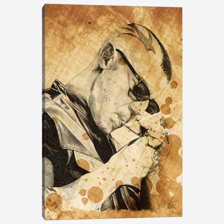 Sons Of Anarchy Juice Oil Stained Canvas Print #KYW56} by Kyle Willis Canvas Artwork