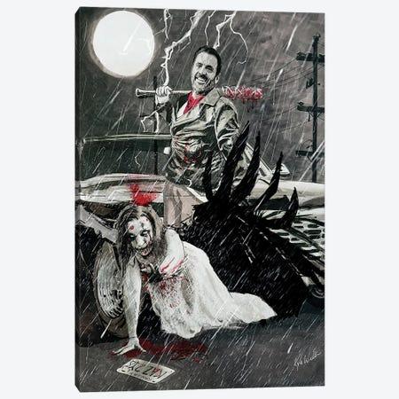Supernatural Born Killers Canvas Print #KYW59} by Kyle Willis Canvas Art Print