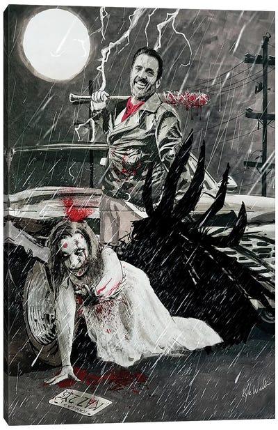 Supernatural Born Killers Canvas Art Print
