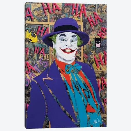Batman Joker Jack Nicholson Canvas Print #KYW5} by Kyle Willis Canvas Art