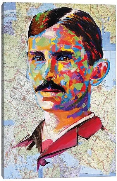 Tesla Canvas Art Print