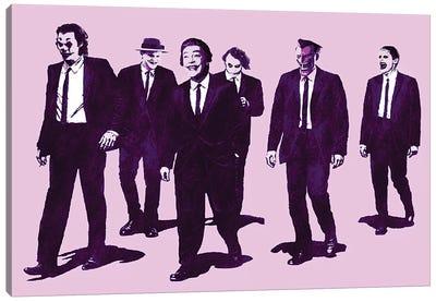 Batman Joker Reservoir Kings Canvas Art Print