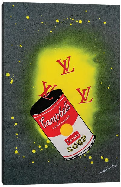 LV Soup Canvas Art Print