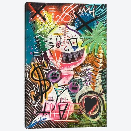 Jungle Nights Canvas Print #LAA12} by Noah Laatar Art Print