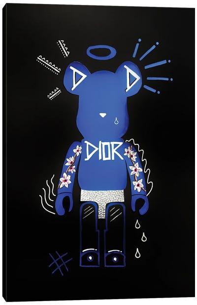 The Caring Bearbrick Canvas Art Print