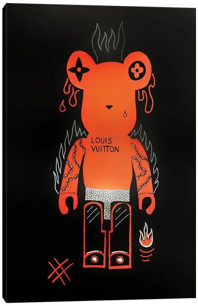 The Furious Bearbrick Canvas Art Print