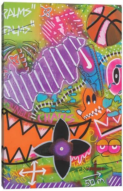 Jungle Chaos Canvas Art Print