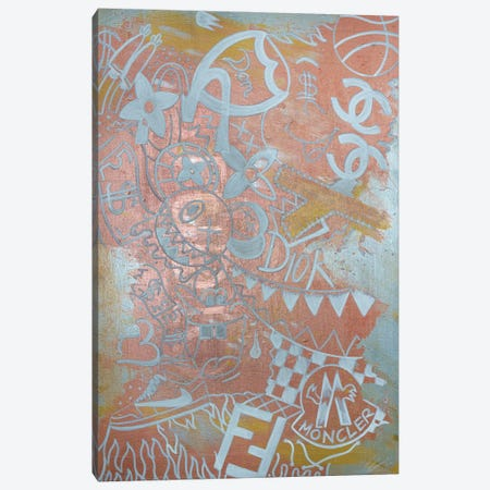 Everything & Nothing Canvas Print #LAA5} by Noah Laatar Canvas Artwork