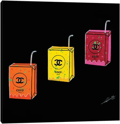 Coco Juice Canvas Art Print