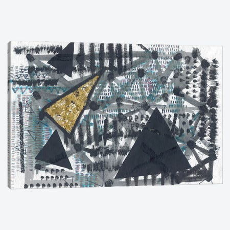 Golden Triangle Canvas Print #LAB10} by Lori Arbel Canvas Wall Art