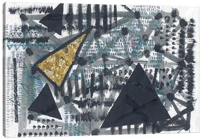 Golden Triangle Canvas Art Print