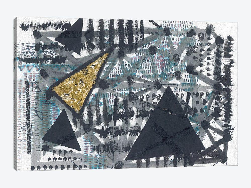 Golden Triangle by Lori Arbel 1-piece Canvas Art