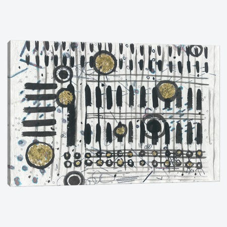 Notes & Keys Canvas Print #LAB12} by Lori Arbel Canvas Art
