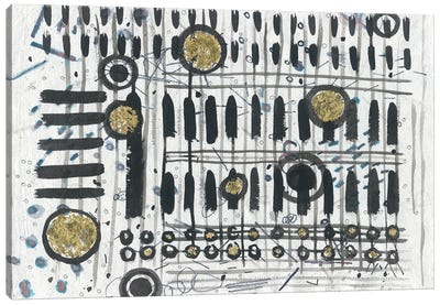 Notes & Keys Canvas Art Print