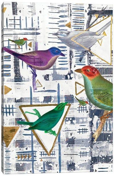 Bird Intersection I Canvas Art Print