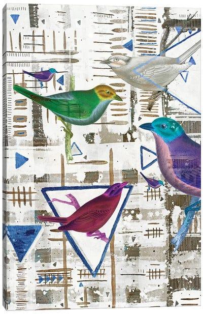 Bird Intersection III Canvas Art Print