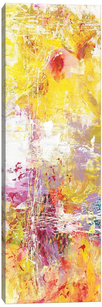 Yellow Abstract I Canvas Art Print