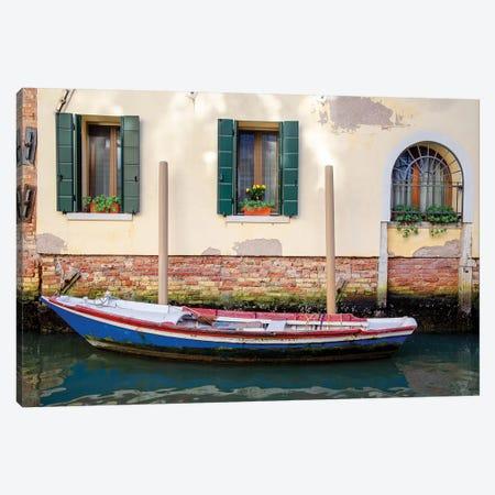 Venice Workboats II Canvas Print #LAD10} by Laura DeNardo Canvas Artwork