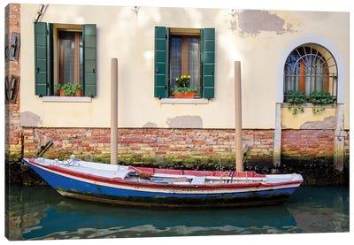 Venice Workboats II Canvas Art Print