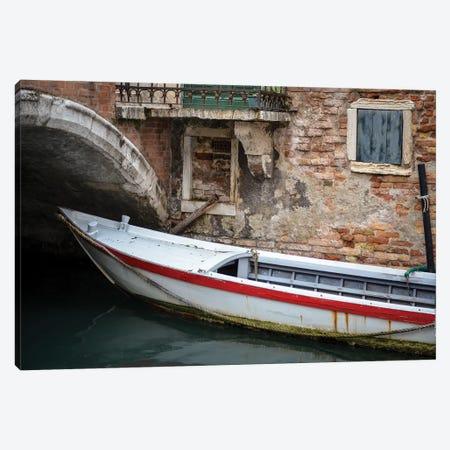 Venice Workboats III Canvas Print #LAD11} by Laura DeNardo Canvas Artwork