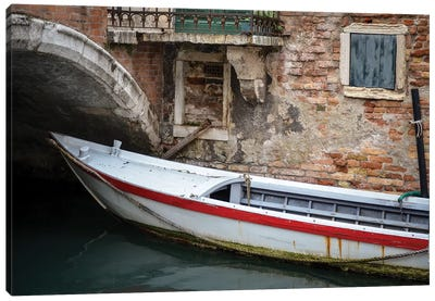 Venice Workboats III Canvas Art Print