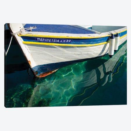 Workboats of Corfu, Greece IV Canvas Print #LAD15} by Laura DeNardo Canvas Art Print