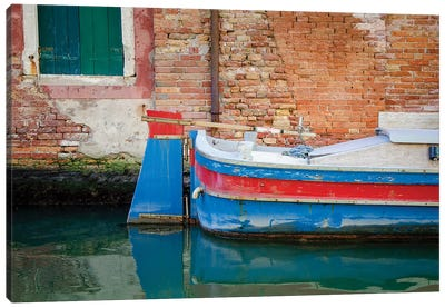 Venice Workboats I Canvas Art Print