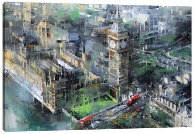 London Green - Big Ben Canvas Print #LAG1