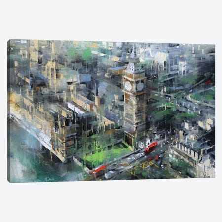 London Green - Big Ben Canvas Print #LAG1} by Mark Lague Canvas Art Print