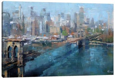 Brooklyn Bridge Canvas Print #LAG5