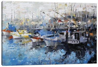 San Francisco Wharf Canvas Art Print