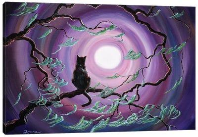The Wind In My Fur Canvas Art Print