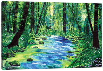 Enchanted Woodland Canvas Art Print