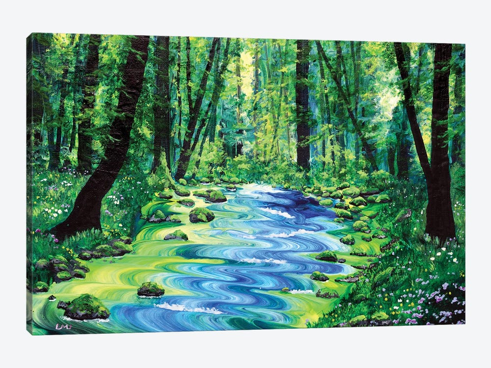 Enchanted Woodland by Laura Iverson 1-piece Canvas Art