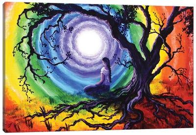 Tree Of Life Meditation Canvas Art Print