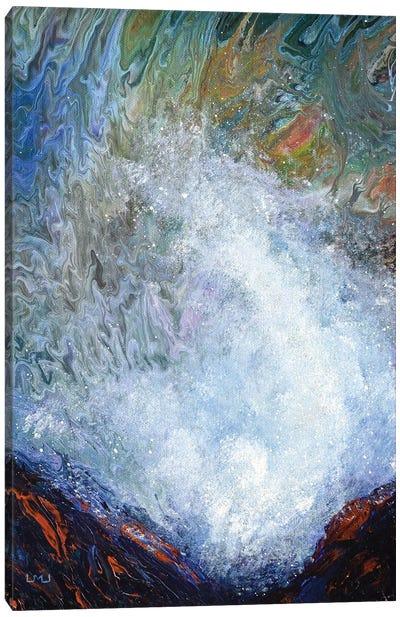 Spouting Horns At Depoe Bay Canvas Art Print