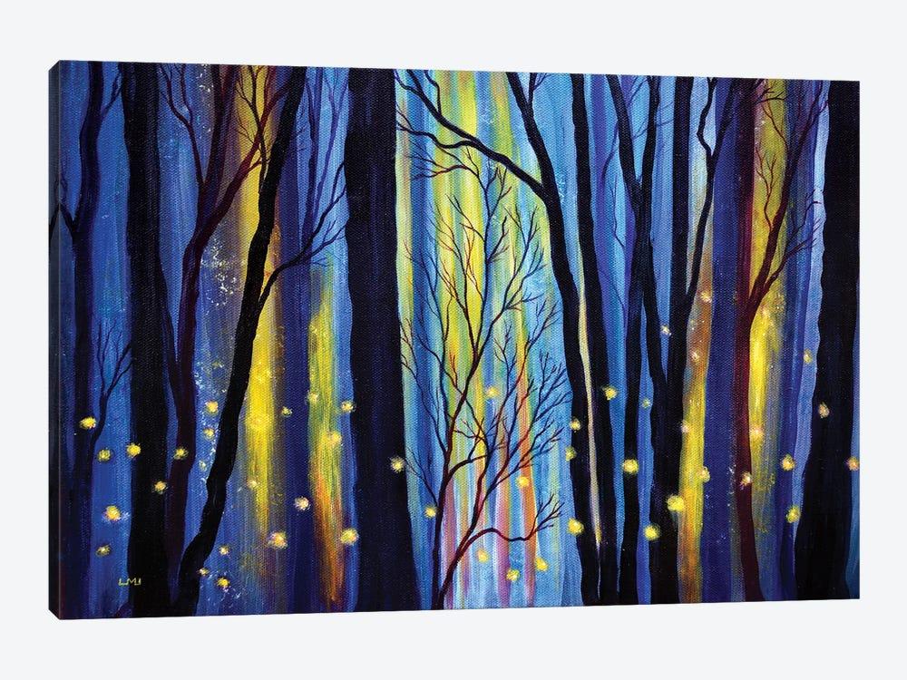 Fireflies In Winter Light by Laura Iverson 1-piece Canvas Art Print
