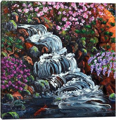Secret Waterfall Canvas Art Print