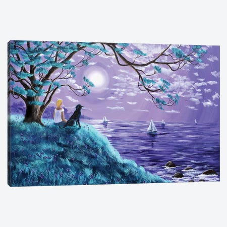 A Breeze From The Bay Canvas Print #LAI1} by Laura Iverson Canvas Print
