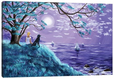 A Breeze From The Bay Canvas Art Print