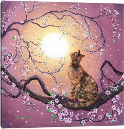 Cherry Blossom Waltz Canvas Art Print