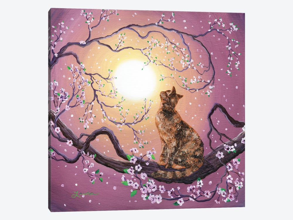 Cherry Blossom Waltz by Laura Iverson 1-piece Canvas Wall Art