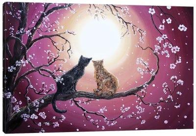A Shared Moment Canvas Art Print