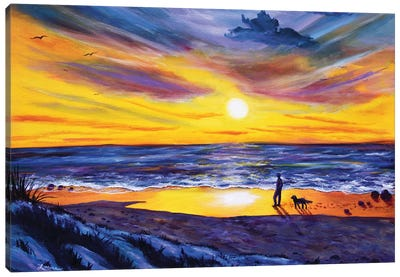 Memories Of My Father Canvas Art Print