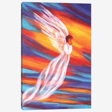 Southwest Sunset Angel Canvas Print #LAI93} by Laura Iverson Canvas Print