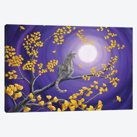 The Moon Shone Upon Me Canvas Print #LAI98} by Laura Iverson Art Print