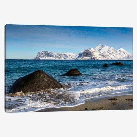 Norway, Lofoten, Myrland III Canvas Print #LAJ100} by Mikolaj Gospodarek Canvas Print