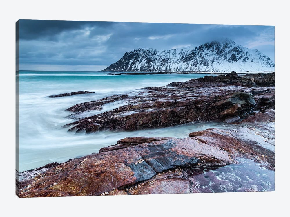 Norway, Lofoten, Skagsanden Beach I by Mikolaj Gospodarek 1-piece Art Print