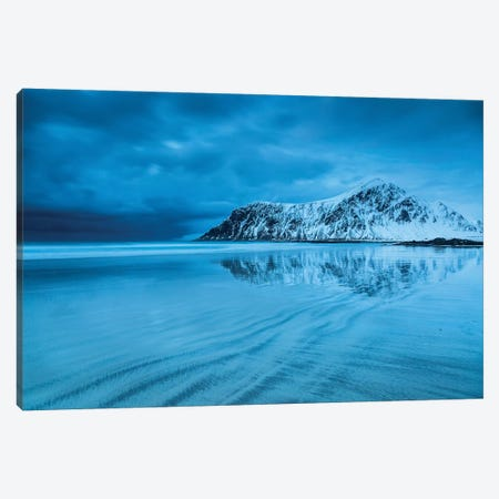 Norway, Lofoten, Skagsanden Beach II Canvas Print #LAJ102} by Mikolaj Gospodarek Canvas Print