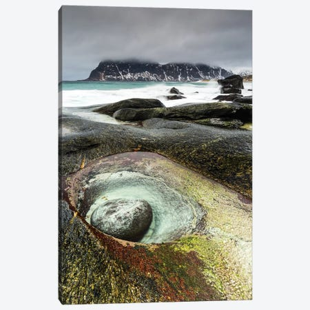 Norway, Lofoten, Uttakleiv Beach II Canvas Print #LAJ108} by Mikolaj Gospodarek Canvas Print